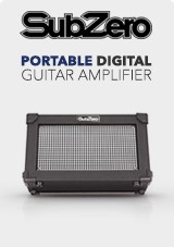 SubZero, NEW Portable Digital Guitar Amp with Bluetooth