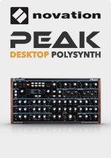 Novation PEAK Polysynth de Bureau