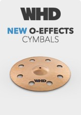 Cymbales WHD Série O