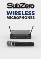 SubZero Wireless Microphones