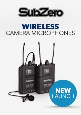 SubZero New Wireless Camera Microphones